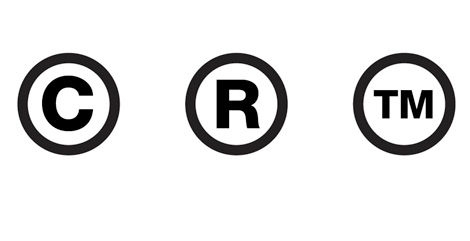 Trademark TM Logo And R Logo