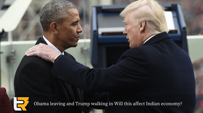 Obama leaving and Trump walking in Will this affect Indian economy