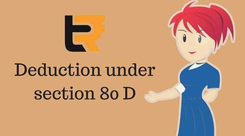 deduction under section 80 D
