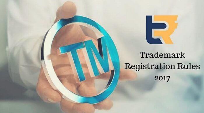 Trademark Registration Rules 2017