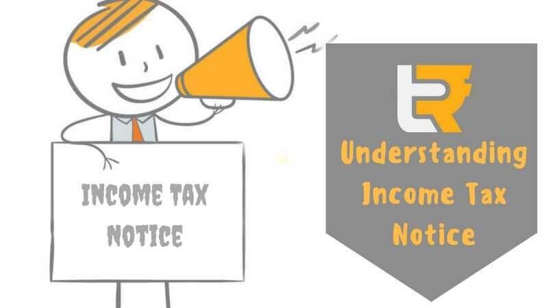 understanding Income tax notice