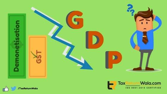 Demonetisatio-GST-GDP