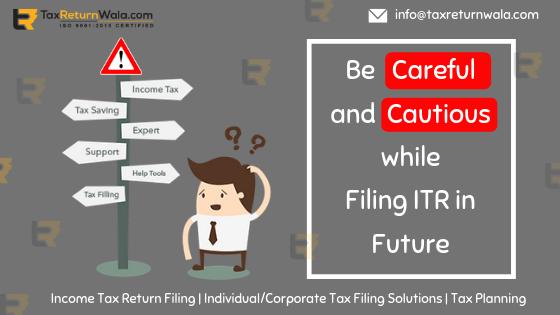 income tax department ITR filling rules, ITR filing 2018-19, tax filing alternative taxreturnwala, tax filing service alternative, tax filing solution online, tax guide online