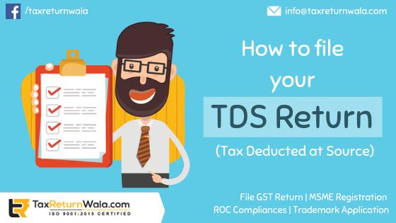 file a TDS return online