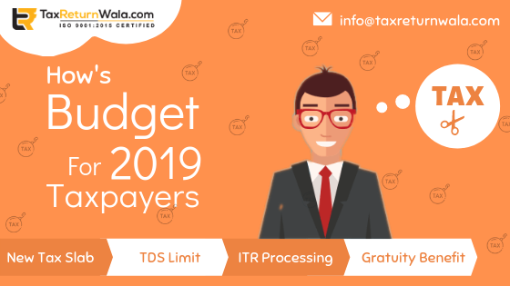 Budget 2019 for Taxpayers
