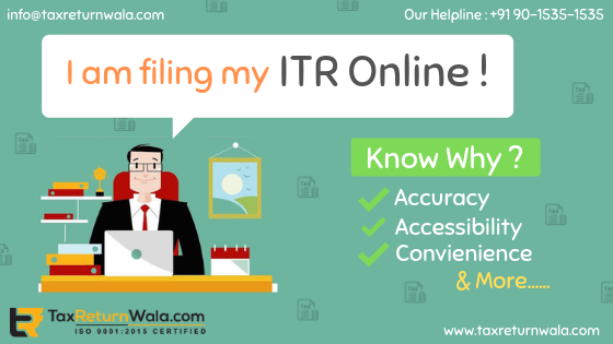 What are the benefits of filing Income Tax return online?