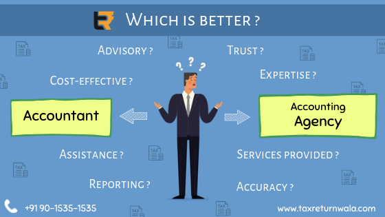 Which is Better Accountant or accounting service provider agency
