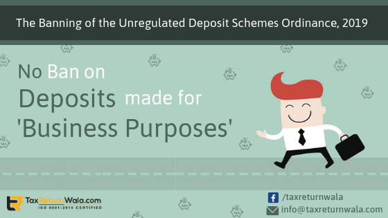 unregulated deposit scheme