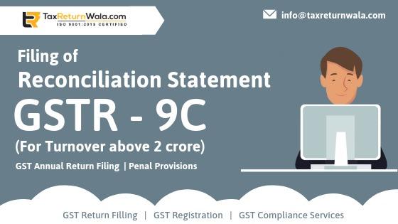 Filling of GSTR 9C