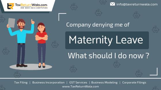 employer deny maternity leave