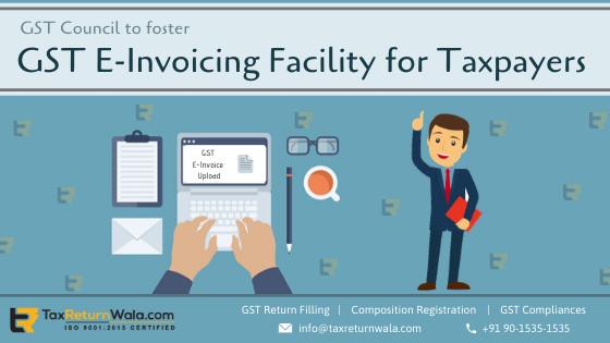 GST E-invoicing