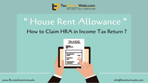 HRA in Income Tax Return
