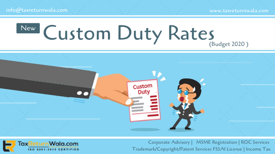 custom duty rates