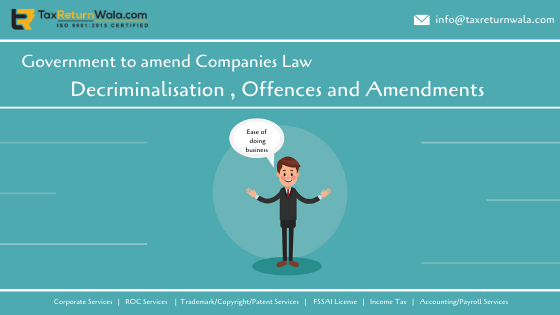 company law amendment