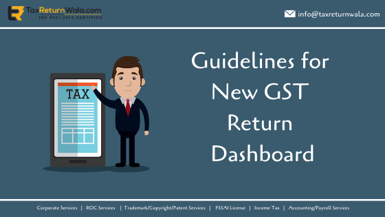 new gst return dashboard