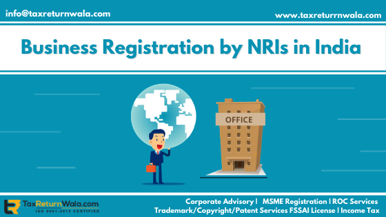 Business Registration by NRI in India