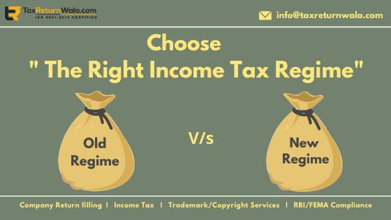 Income Tax Slab Comparison Chart 2020-21