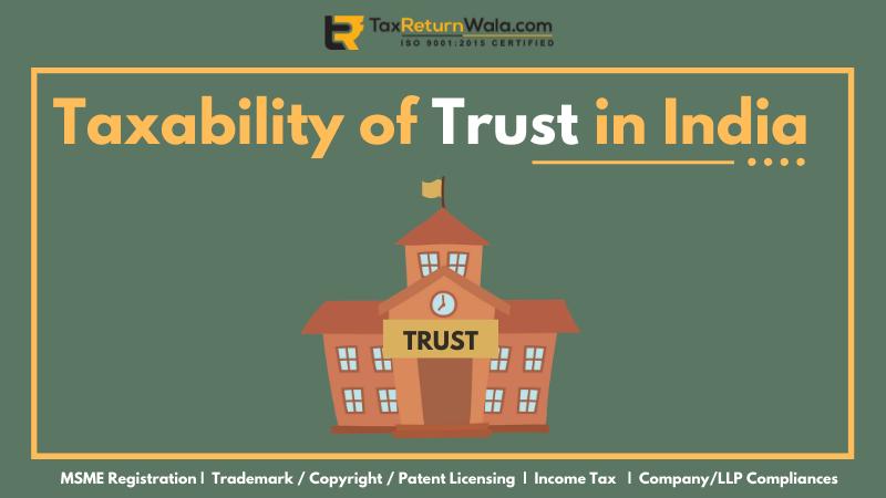 trust in india