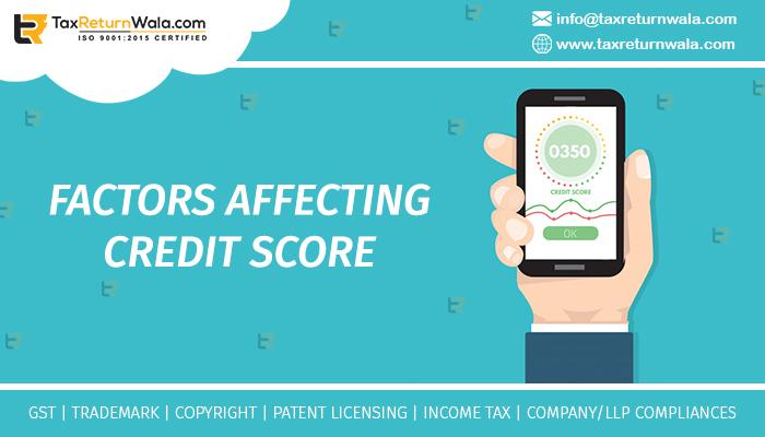 Factors Affecting Credit Score