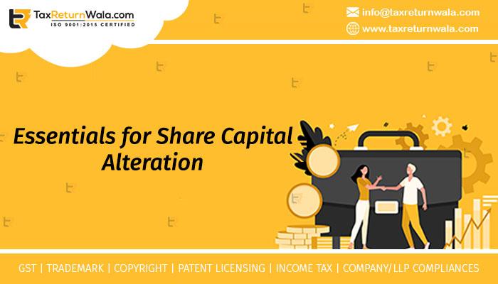 Alteration of Share Capital